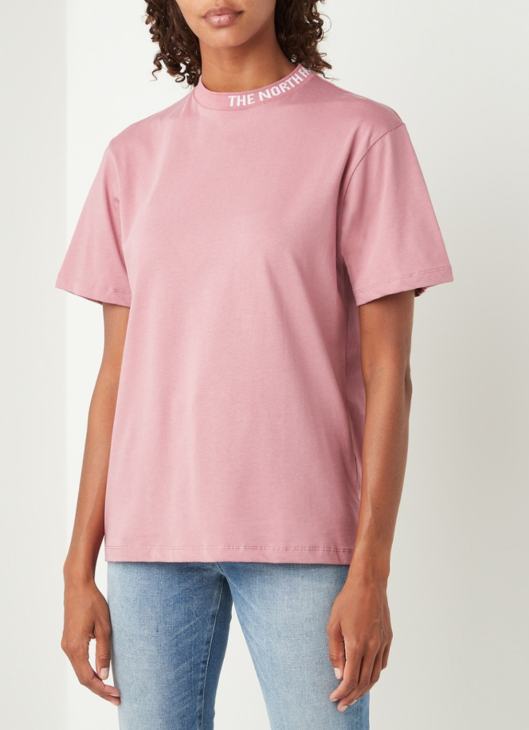 The North Face - Zumu T-shirt met logoprint - Oudroze