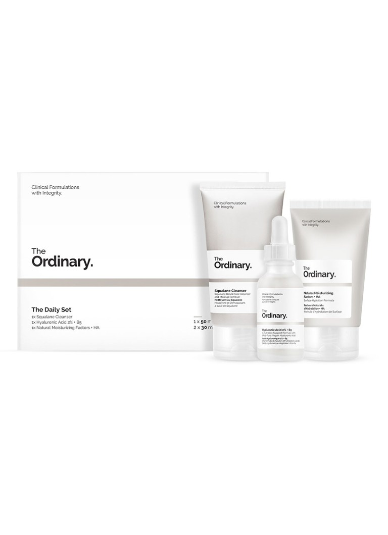 The Ordinary - The Daily Set - verzorgingsset -