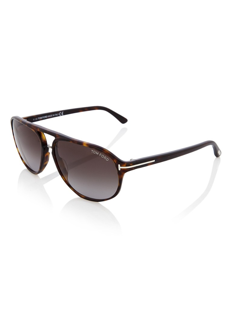 TOM FORD - Jacob zonnebril FT0447 - Bruin