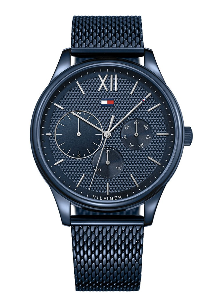 Tommy Hilfiger - Horloge TH1791421 - Donkerblauw