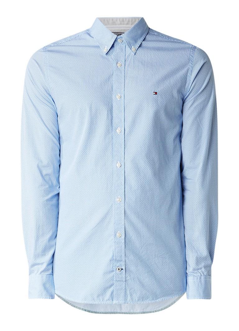 c5d7c4b810f Tommy Hilfiger Ryan slim fit button down-overhemd met dessin • de ...