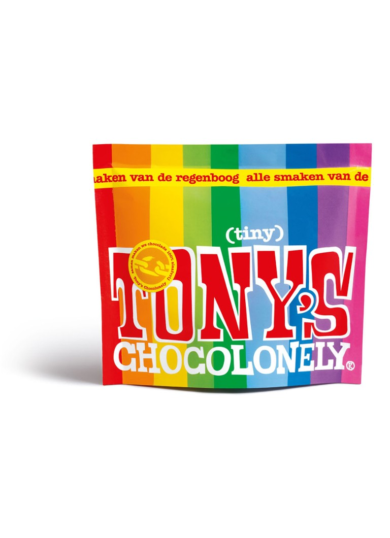 Tony's Chocolonely - Mélange de chocolat Tiny Tony 20 pièces - null