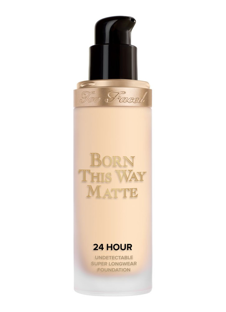 Too Faced - Born This Way Matte 24 Hour Undetectable Super Longwear Foundation - Swan
