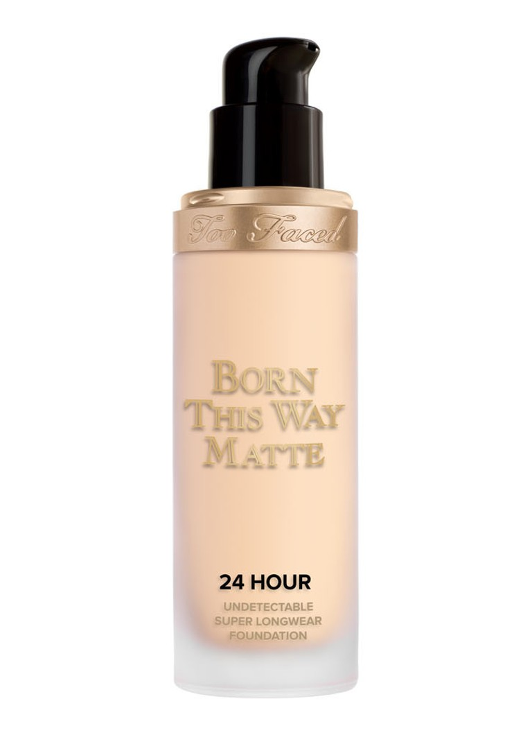 Too Faced - Born This Way Matte 24 Hour Undetectable Super Longwear Foundation - Snow