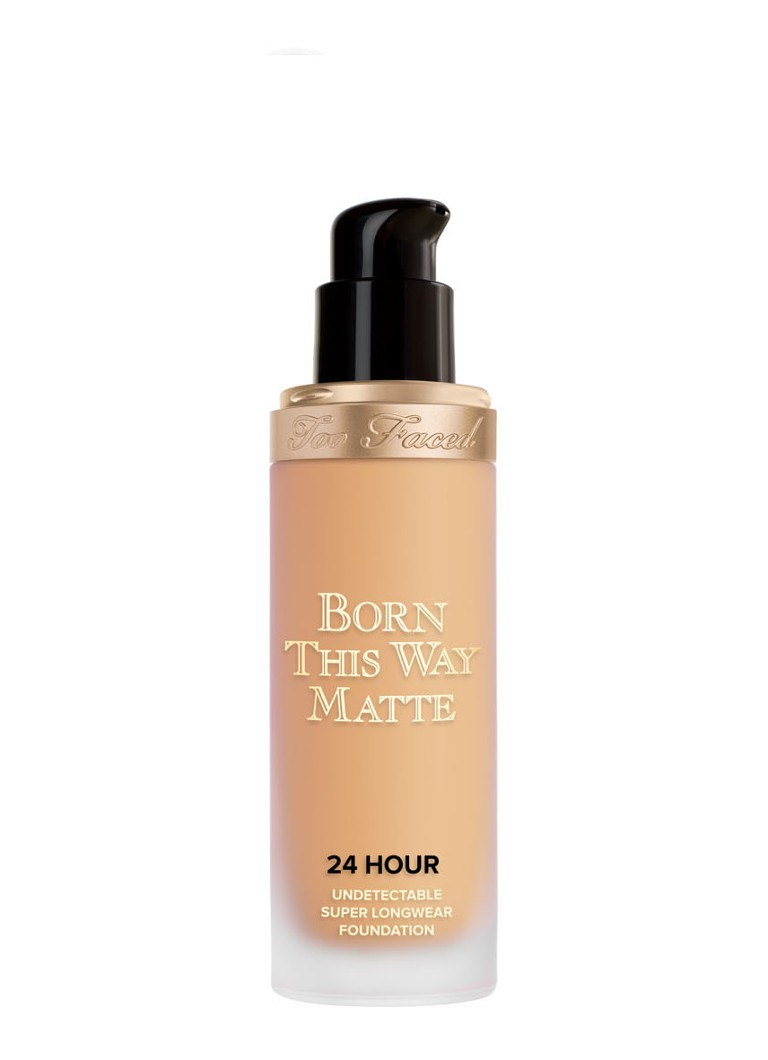 Too Faced - Born This Way Matte 24 Hour Undetectable Super Longwear Foundation - Natural Beige