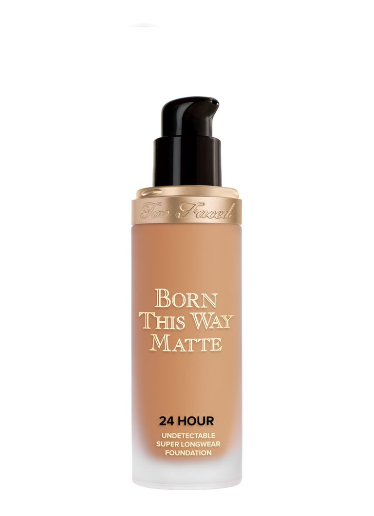 Too Faced - Born This Way Matte 24 Hour Undetectable Super Longwear Foundation - Honey