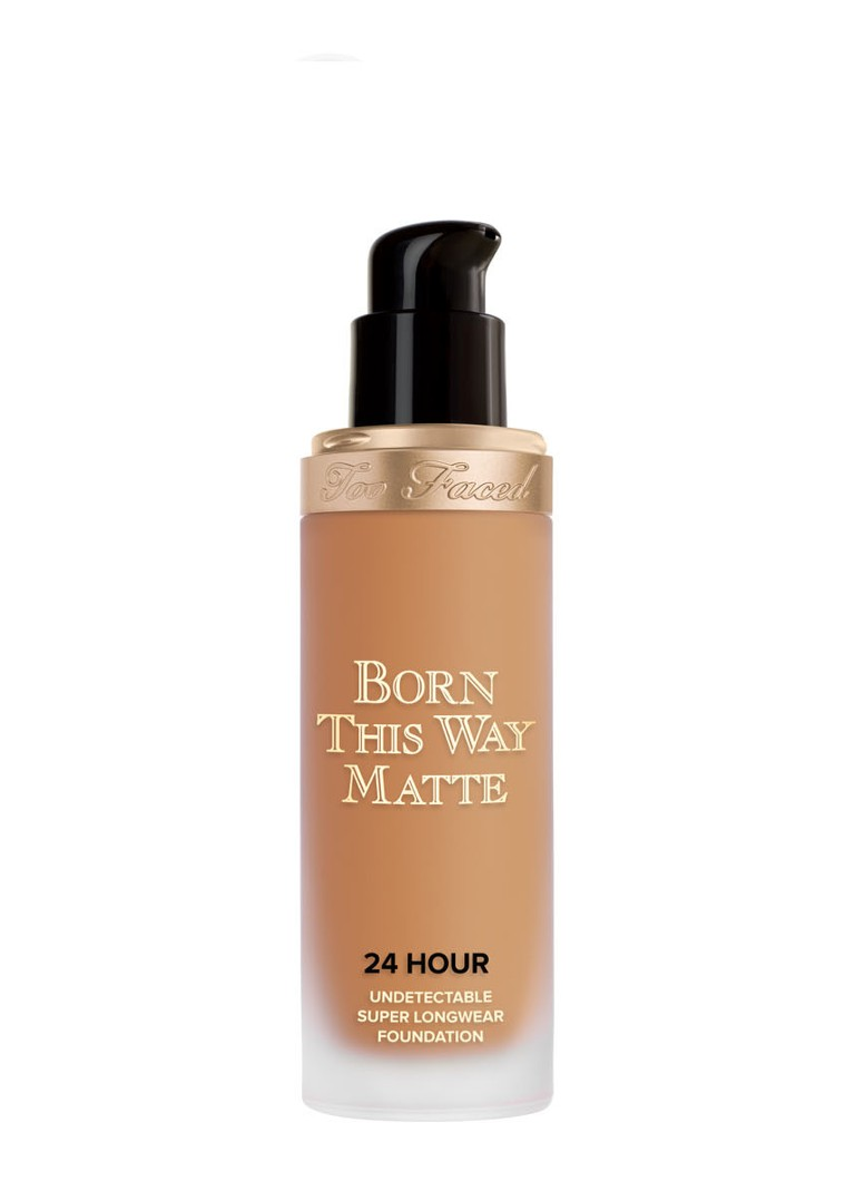 Too Faced - Born This Way Matte 24 Hour Undetectable Super Longwear Foundation - Caramel