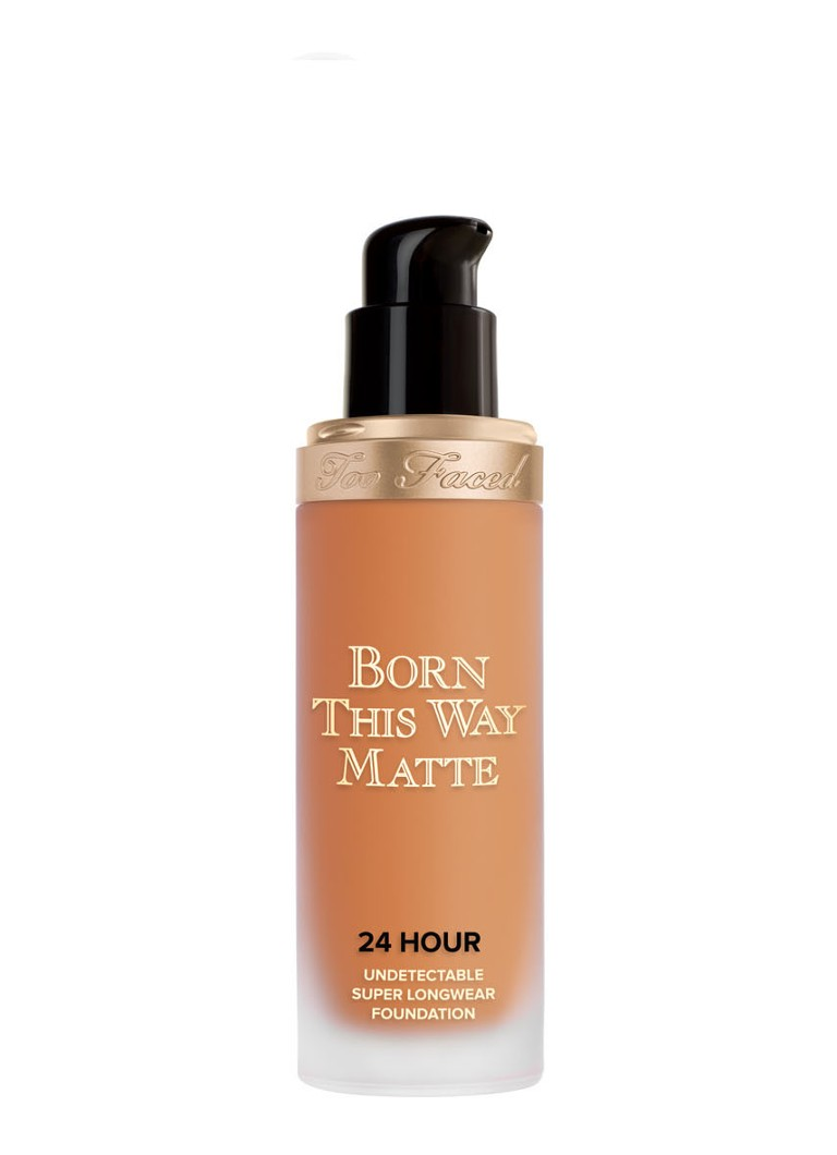 Too Faced - Born This Way Matte 24 Hour Undetectable Super Longwear Foundation - Brulee