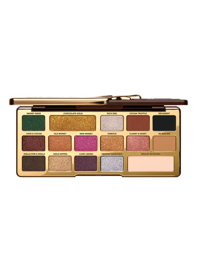 Too Faced - Chocolate Gold Eye Shadow Palette - oogschaduw - null