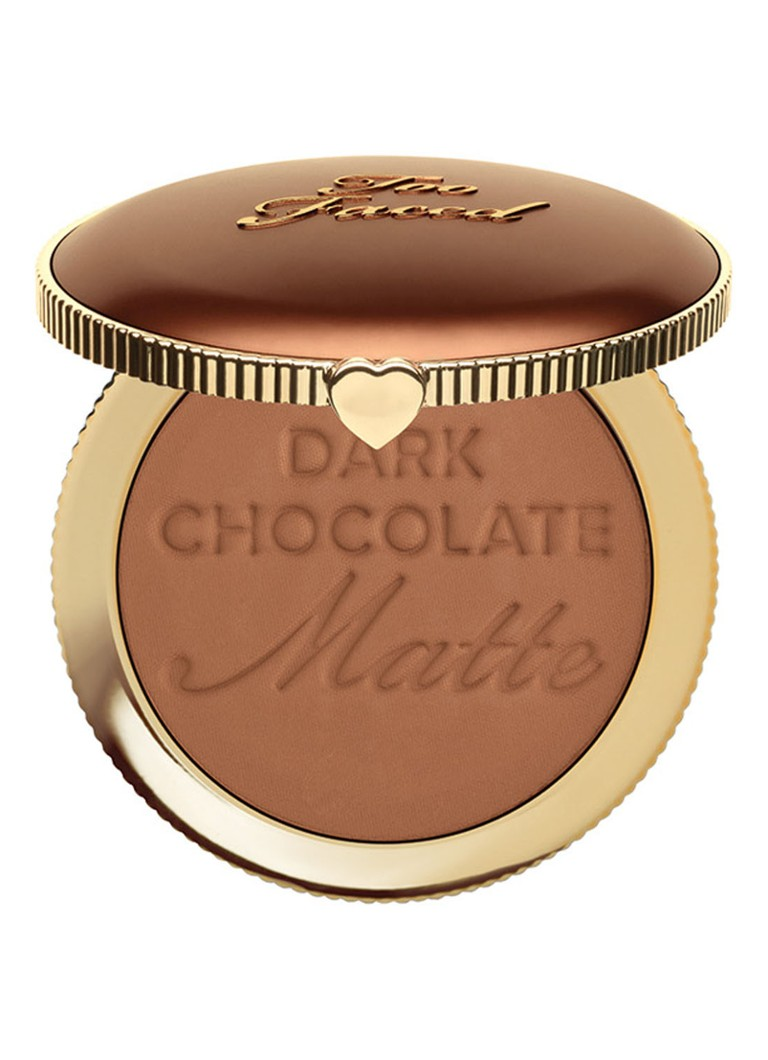 Too Faced - Dark Chocolate Soleil Bronzer - Dark Chocolate