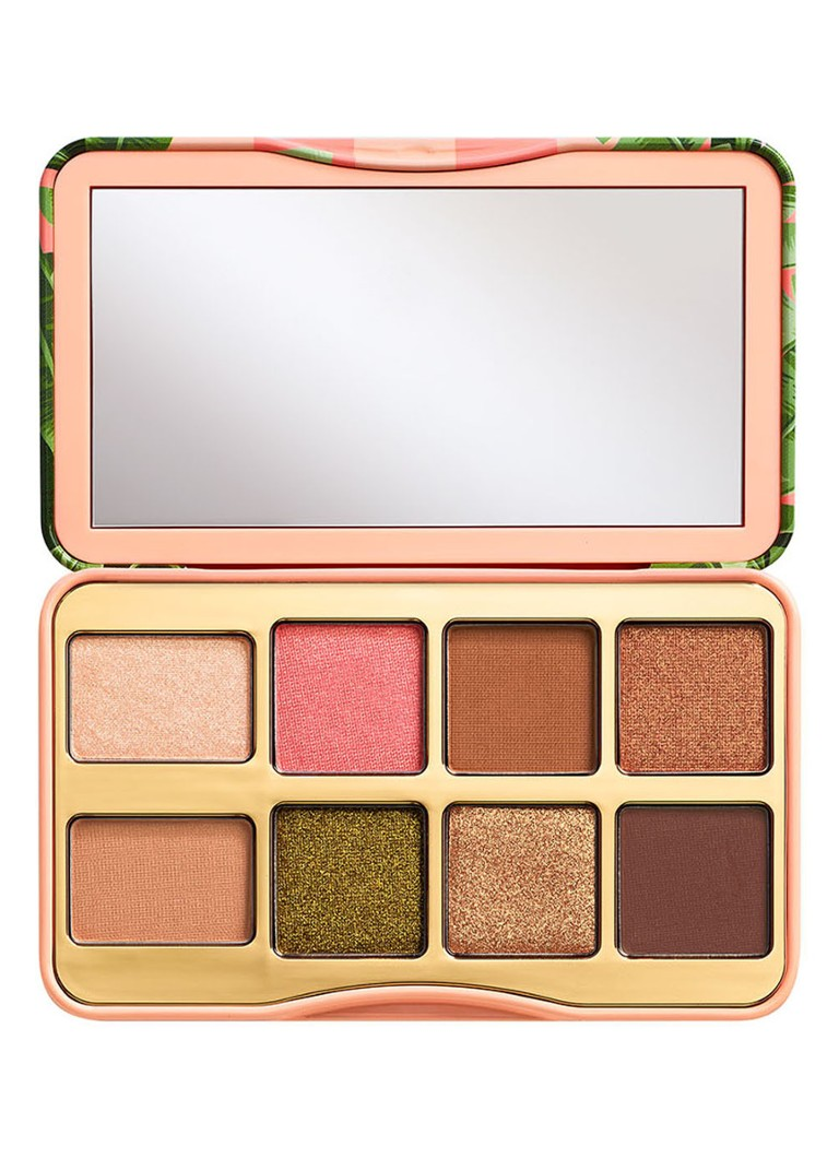 Too Faced - Shake Your Palm Palms Eye Shadow Palette - oogschaduw palette -