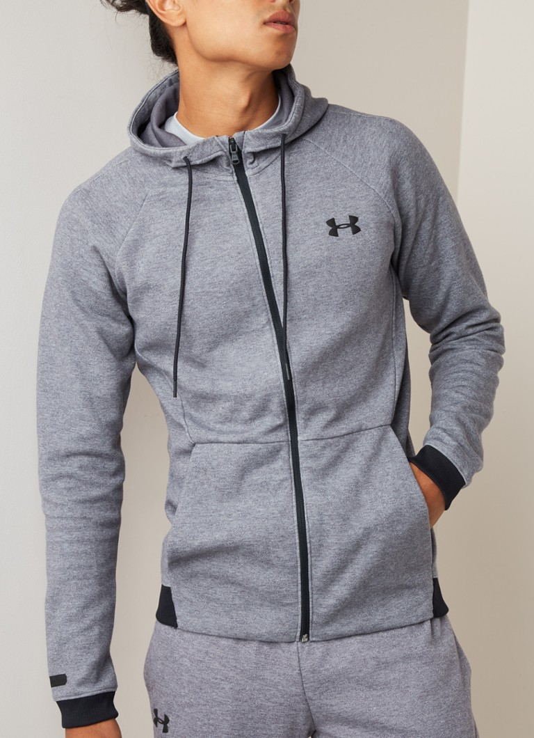 Under Armour - Unstoppable Double Knit  - Middengrijs