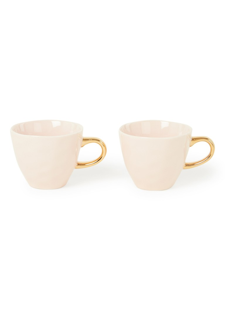 Urban Nature Culture - Good Morning Mini tasse 20 cl lot de 2  - Rose clair
