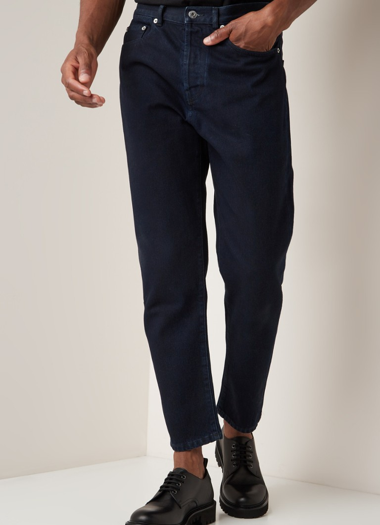 Valentino - Straight fit jeans met donkere wassing - Indigo