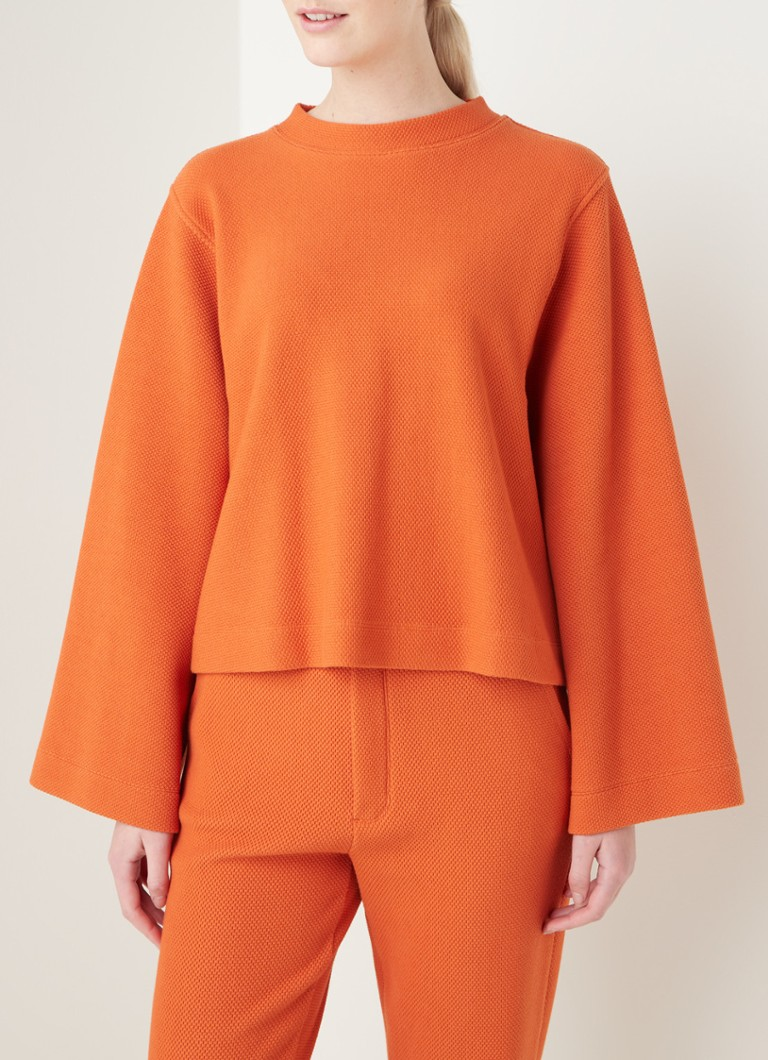 Vanilia - Top avec structure - Orange