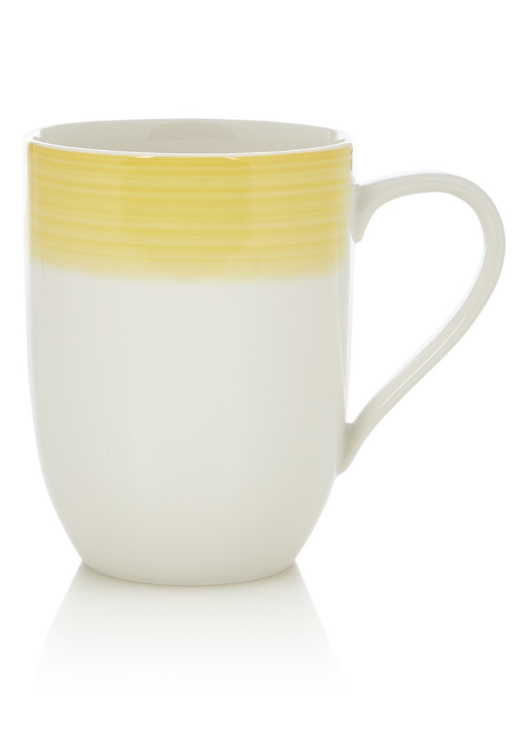 Villeroy & Boch - Colourful Life mok 37 cl - Geel
