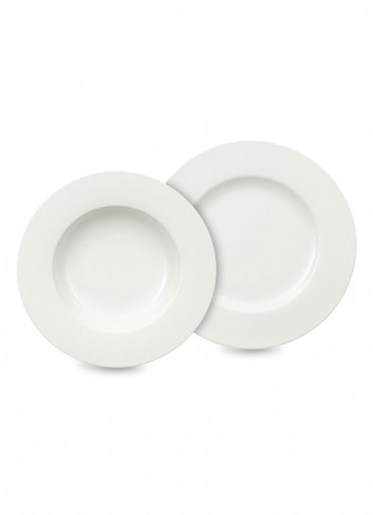 Villeroy & Boch - Royal serviesset 12-delig - Wit