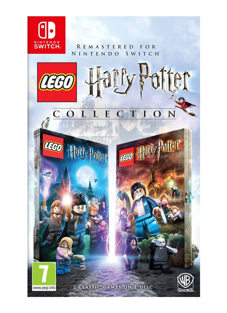 Warner Bros - LEGO Harry Potter Years 1-7 Collection Game - Nintendo Switch - null