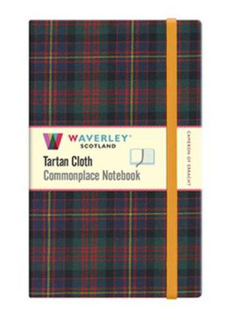 Waverley Anderson - Commonplace Notebook Cameron Of Erracht Tartan Cloth (Large) - null