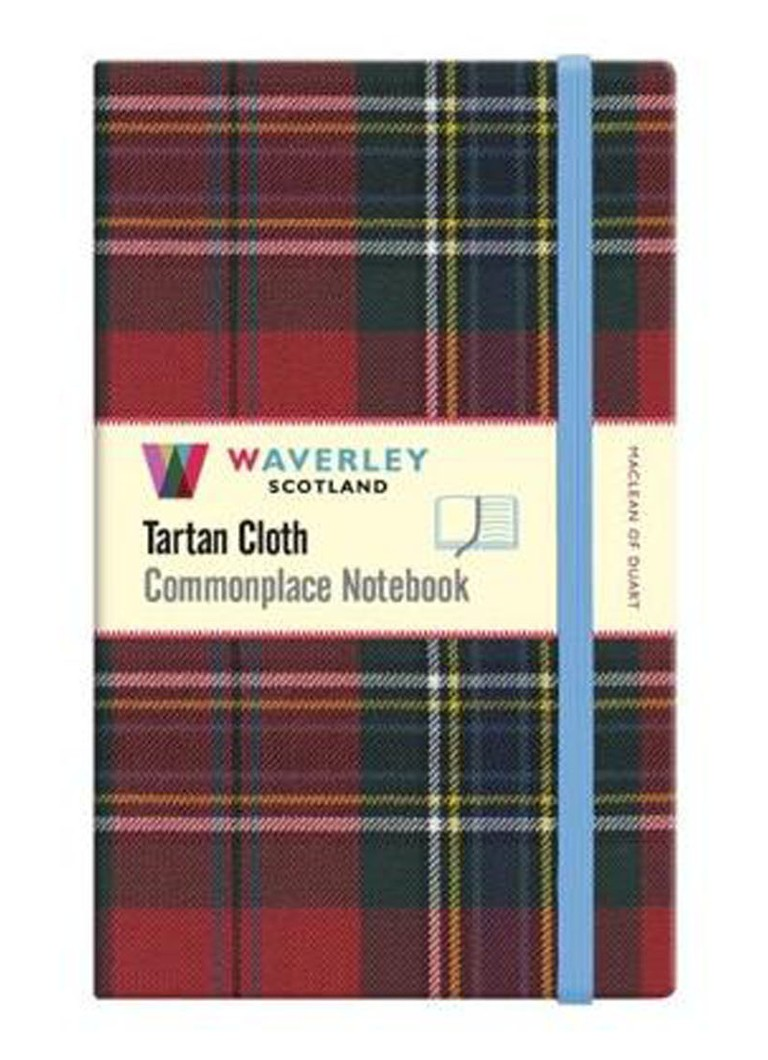 Waverley Anderson - Commonplace Notebook Maclean Of Duart Genuine Tartan Cloth (Large) - null