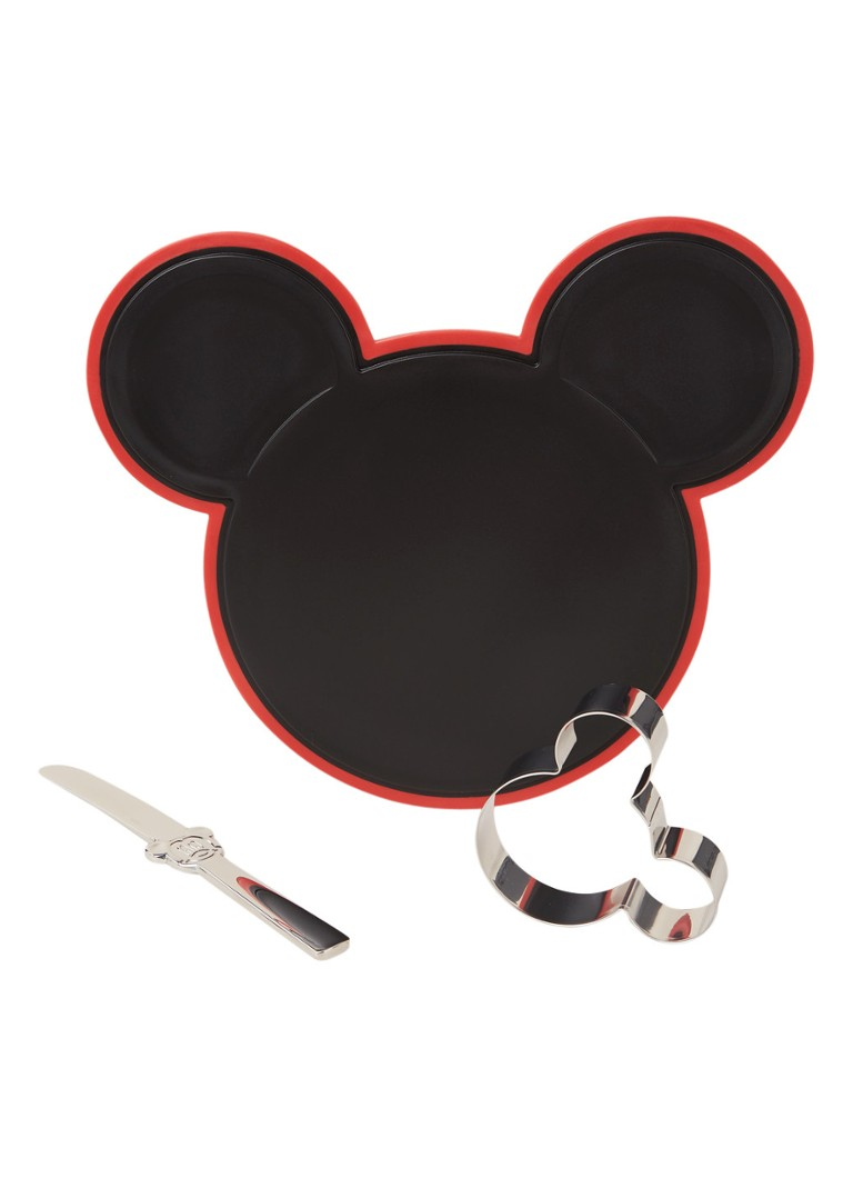 WMF - Mickey Mouse create set 3-delig - Zilver