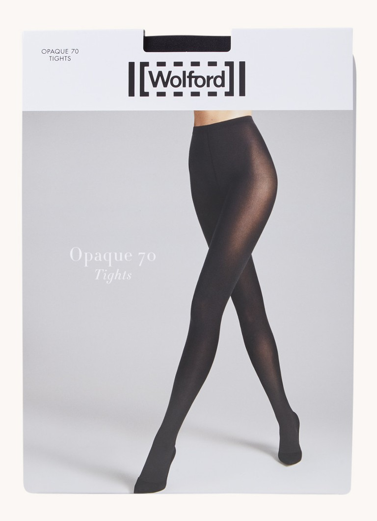 Wolford - Opaque panty in 70 denier - Zwart