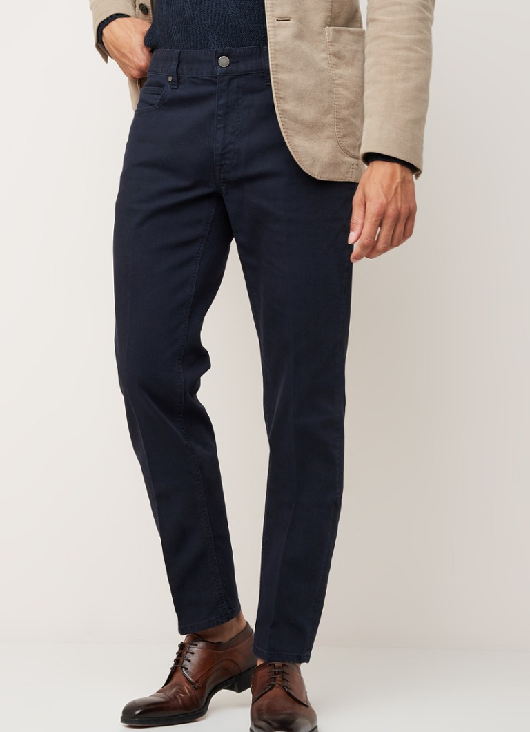 Z Zegna - Slim fit 5-pocket jeans - Indigo
