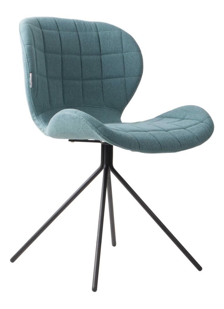Zuiver Omg Bureaustoel.Zuiver Omg Stoel Blauw Set Van 2 Blauw De Bijenkorf
